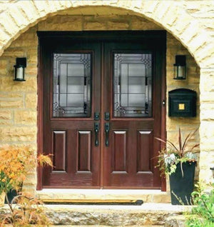 Victory Door With Sidelights