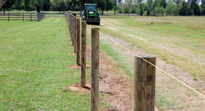 Australia Set Fence Posts