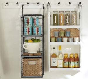 Sweet Hanging Wire Basket Shelves