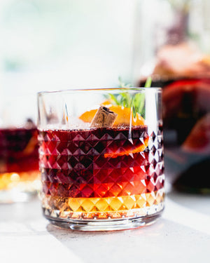 Get ready to be amazed by the best fall drink recipe! This Fall Sangria recipe pairs sparkling apple cider with red wine, orange and cinnamon