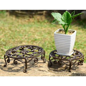 SPI Garden Collection Nested Flower Plant Stands (Set of Two)