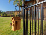 SoFency Fence Hanger-Fence Hook Perfect for Hanging Plants, Bird feeders & Houses, Solar Lights, Wind Chimes, Sun Catchers, Bug zappers, herb Gardens & More. Designed for Pool and Metal View Fences.