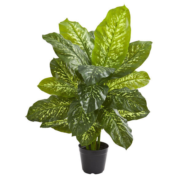"34"" Dieffenbachia Artificial Plant (Real Touch)"
