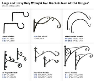 Achla Designs Scroll Wall Bracket Hook (B-36)