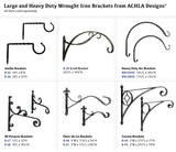 Achla Designs Corona Wall Bracket Hook, Large (B-45)