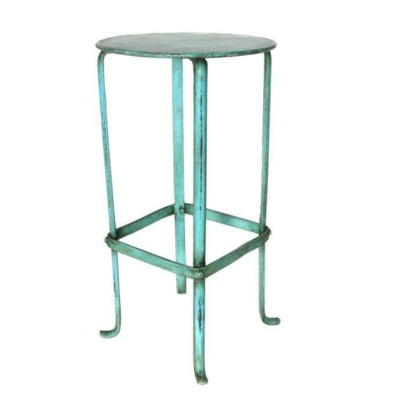 Lina Iron Plant Stand (Teal)