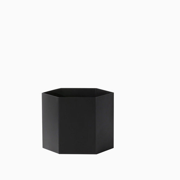 Ferm Living Hexagon Pot Extra Large - Black