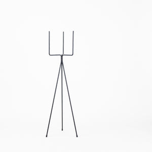 Ferm Living Plant Stand Black (high)