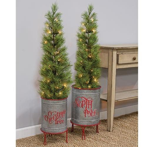 2/Set, North Pole Planters