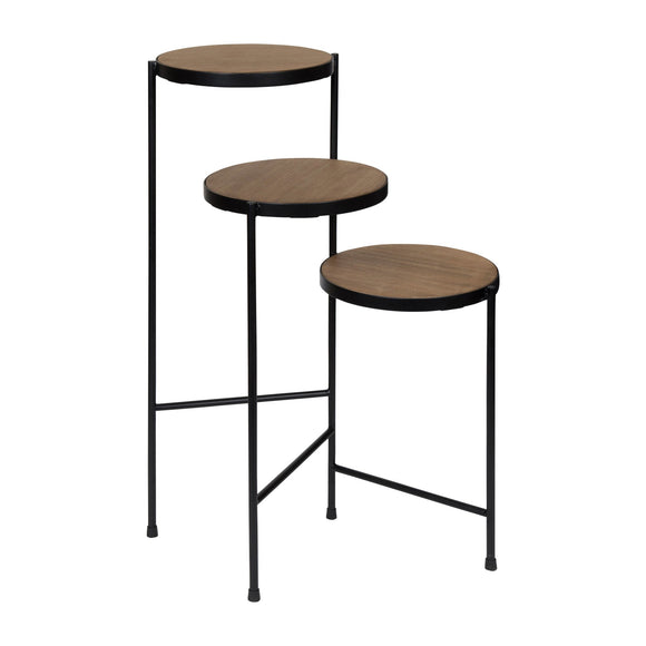 Plant Stand, Contemporary, Black