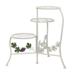 Grapevine Triple Plant Stand