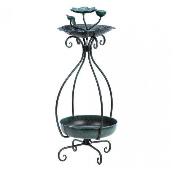 Summerfield Terrace Birdfeeder And Plant Stand