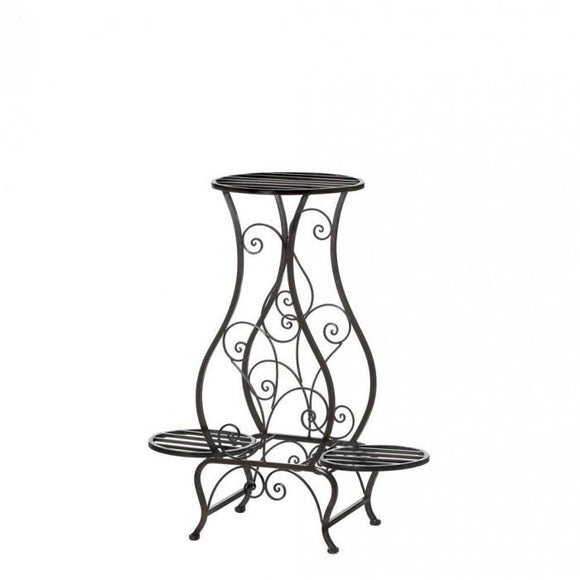 Summerfield Terrace Hourglass Triple Plant Stand