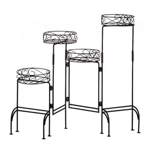 Summerfield Terrace 31339 Four-Tier Plant Stand Screen