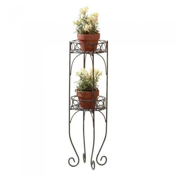 Summerfield Terrace 28232 Two-Tier Plant Stand