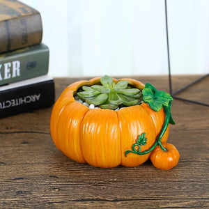 Pumpkin Maceteros Plasticos Para Plantas Hogar Decoracion Plant Stand Decorative Flower Pots Bloembakken Vertical Vegetable
