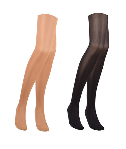 23-32 mmHg / Closed Toe / PLUS SIZE Compression Tights