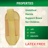 Medical Umbilical Hernia Belt for Children, Support Brace