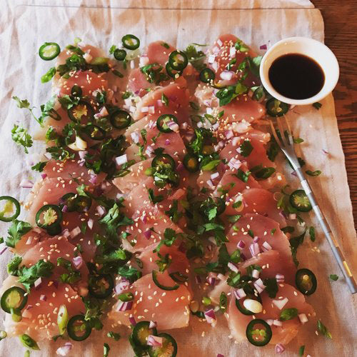 Aaron's Life-of-the-Party Albacore Platter