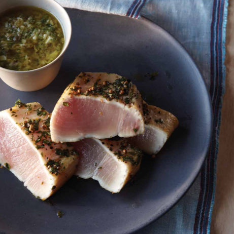 Seared Albacore Tuna with Sauce Gribiche
