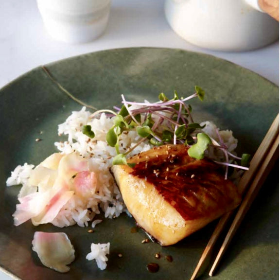 Miso-Marinated Black Cod
