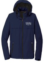Load image into Gallery viewer, Men's Heritage Logo Waterproof Rain Jacket in Navy