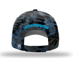 Tre Fin Logo Kryptek Pro Cap in camo (two colors)