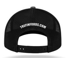 Load image into Gallery viewer, Tre Fin Logo Mesh Trucker Cap in Heathered Steel