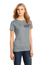 Load image into Gallery viewer, Women's Heritage Logo Short-Sleeve T-Shirt in Heathered Steel