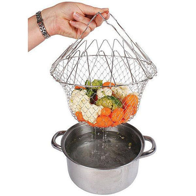 Expandable Steel Magic Basket Strainer - Do Simpler