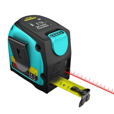 2-in-1 Laser Tape Measure with LCD Display - Do Simpler