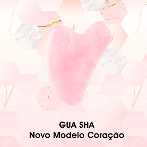 Image of KIT ROLO E GUA SHA DE QUARTZO ROSA