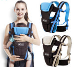 Breathable Front Facing 4 in 1 Baby Carrier For 0-30 Months