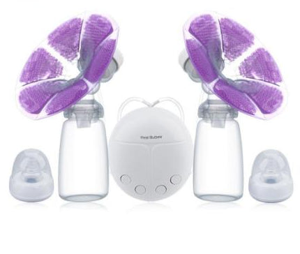 BPA Free Electric Breast Pump With Milk Bottle USB Charge