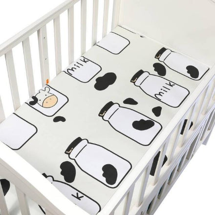 100% Cotton Crib Fitted Sheets
