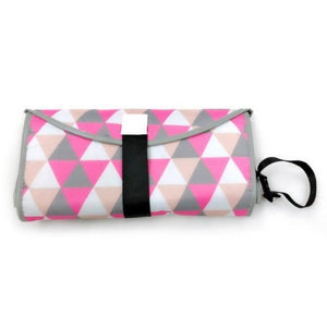 Portable Diaper Changing Pad Clutch