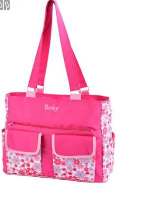 Insular Multi-functional Fashionable Handbag Diaper Bag