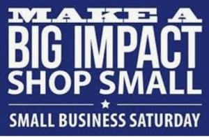 Celebrate Small Business Saturday This November 30th