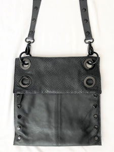 Hammitt Montana Black Leather Cross Body