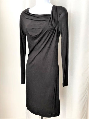 French Connection Size XS Black Jersey Dress