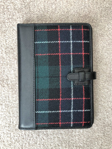 COACH Leather and PLaid Photo Album