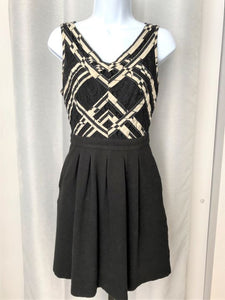 Anthro 9-H15 Size 2 Black & White Dress