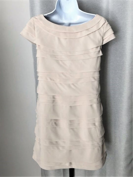 French Connection Size 4 Off-White Layers Dress