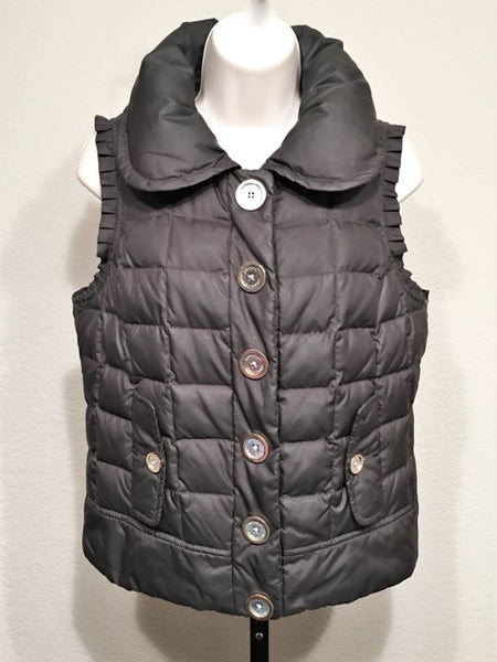 Juicy Couture Small Black Puffer Vest