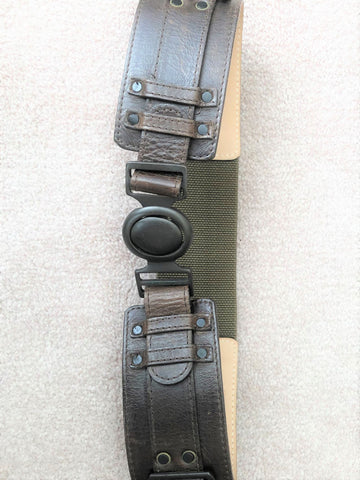 Belt - Streets Ahead XS Brown and Army Green