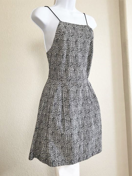 Kate Spade Saturday Size 2 Black and White Sundress