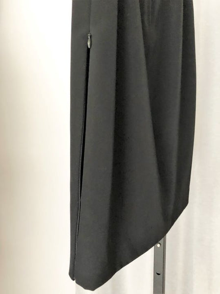Jenne Maag Size Small Black Side Zip Pencil Skirt