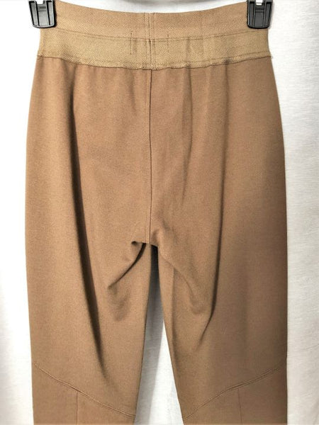 Paige Size Small Tan Suede and Knit Leggings