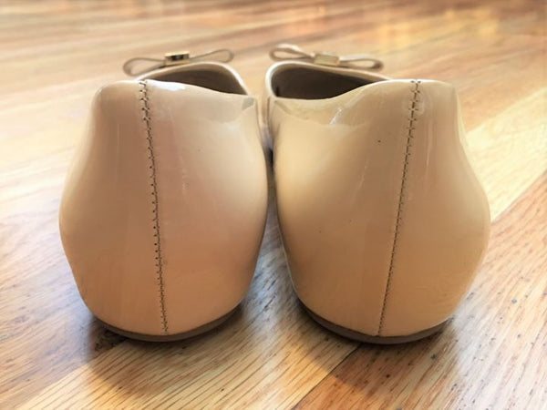 Kate Spade Size 9.5 Nude Patent Leather Flats