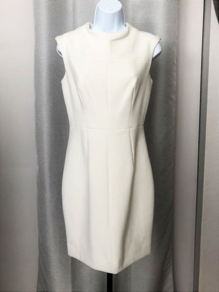 Milly Size 6 White Sleeveless Dress